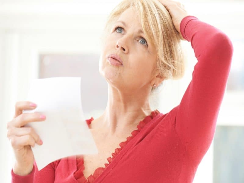 Canva Mature Woman Experiencing Hot Flush From Menopause 1