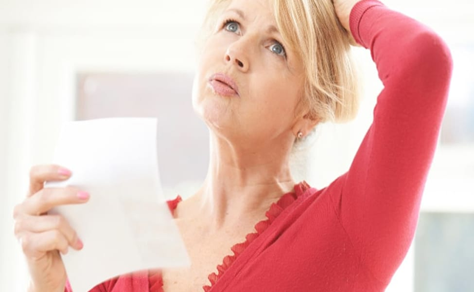 Canva Mature Woman Experiencing Hot Flush From Menopause